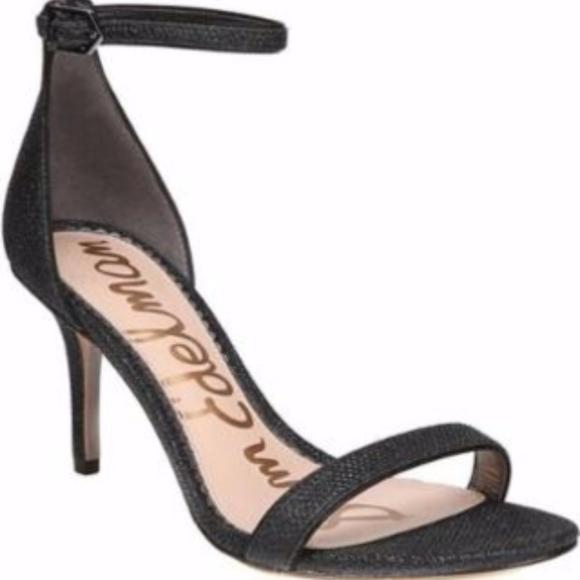 b1d1d462009f41 Sam Edelman Patti black glam mesh sandal
